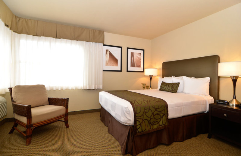 Guest room at Best Western Bainbridge Island.