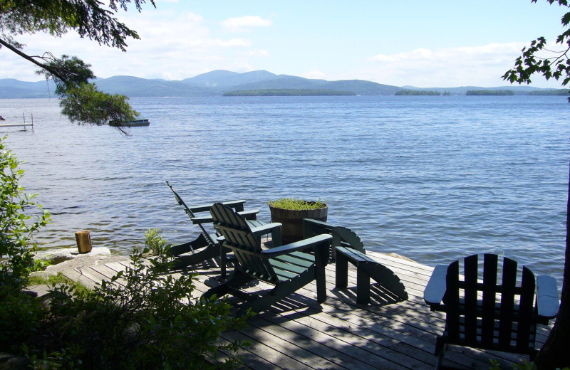 Lake view at At The Lake Vacation Rentals.