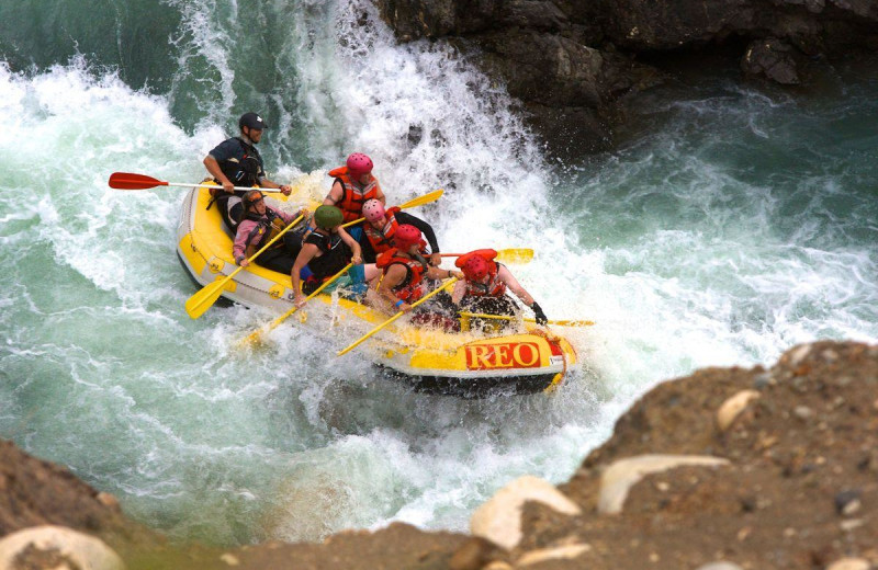 Rafting at REO Rafting Resort.