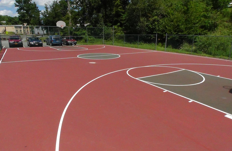 Basket ball court at Villa Roma Resort.