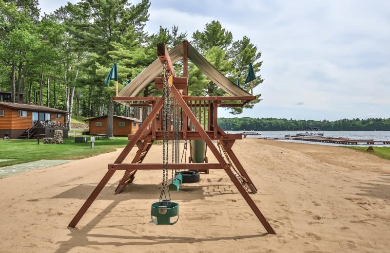 Playground at Serenity Bay Resort.