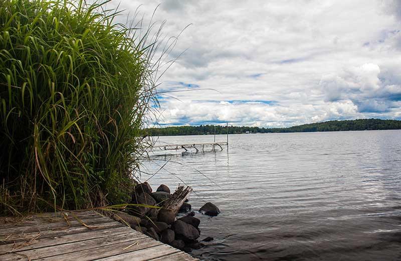 Lake view at White Manor Resort.