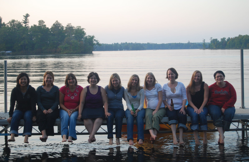 Groups at Woodland Beach Resort.