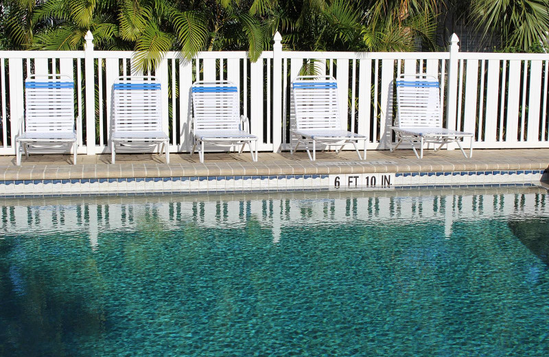 Outdoor pool at Gulfview Manor Resort.