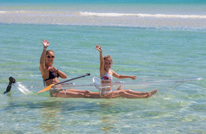 Kayaking at Paradise Properties Vacation Rentals & Sales.