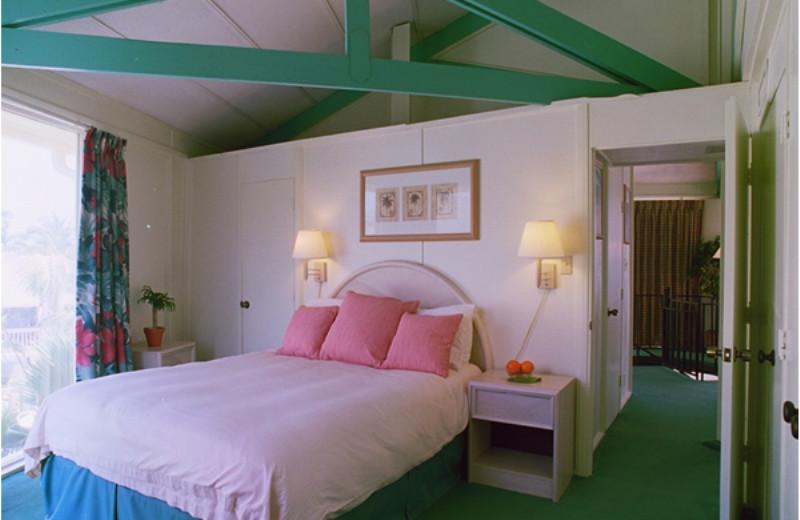 Guest room at Cocoplum Beach & Tennis Club.