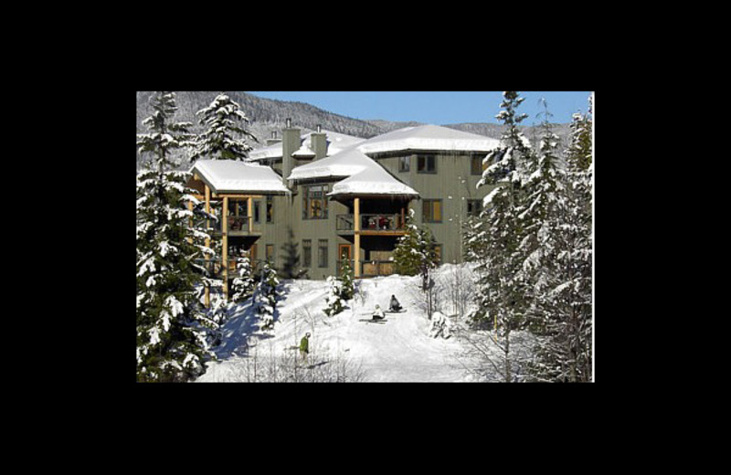 Exterior view of Alpine Vacation Whistler Accommodation.