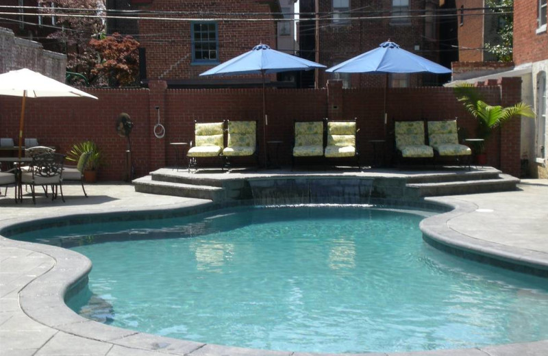 Outdoor pool at Grace Manor Inn.
