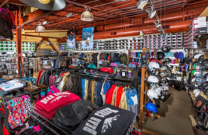 Shop at Bear Creek Mountain Resort.