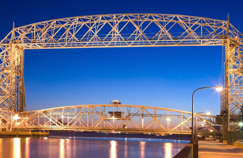 Bridge near Beacon Pointe Resort.