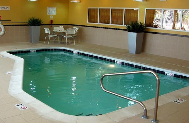 Indoor pool at Fairfield Inn Kansas City Liberty.
