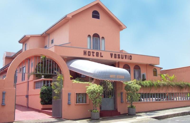 Exterior view of Hotel Vesuvio.
