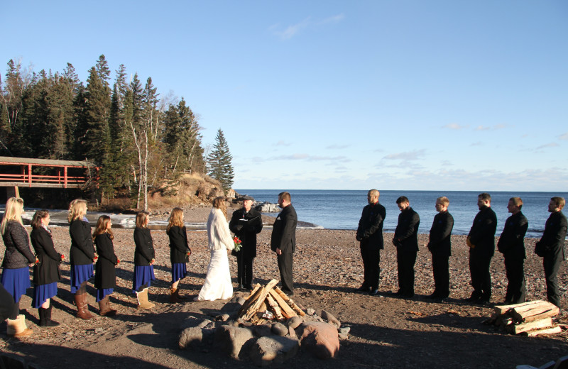 Imagine your perfect wedding on the shores of Lake Superior.