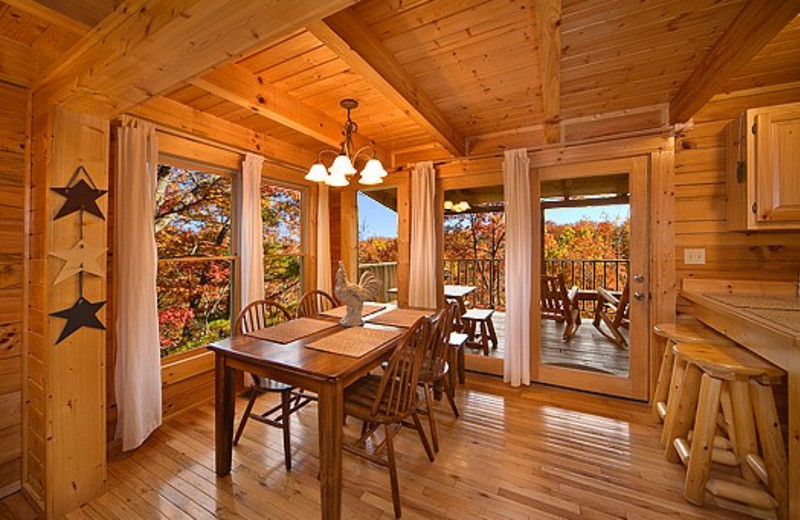 Dining room in Little Valley Mountain Resort