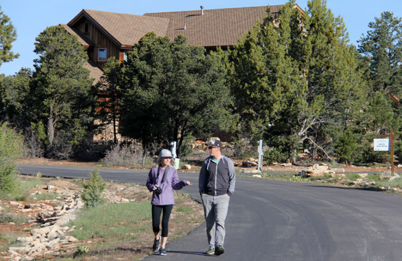 Exterior view of Zion Ponderosa Ranch Resort.