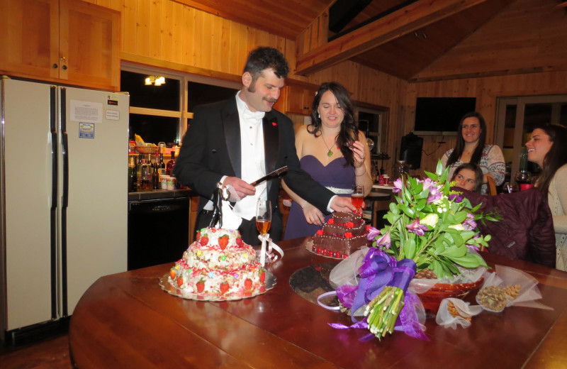 Wedding at DiamondStone Guest Lodges.