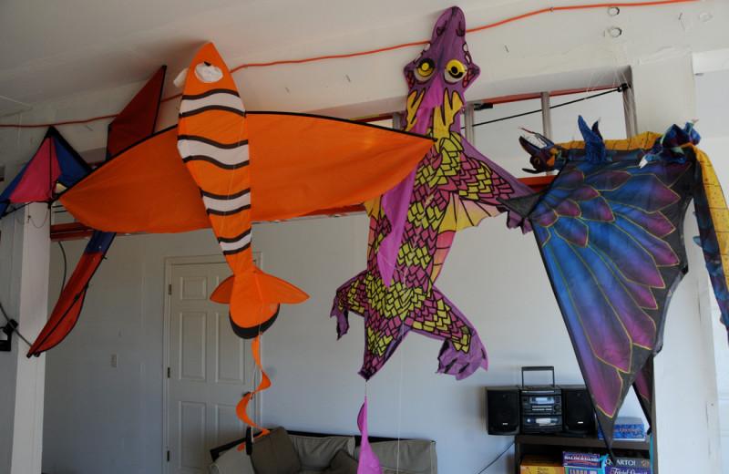 Kites at Retreats & Reunions R&R House.