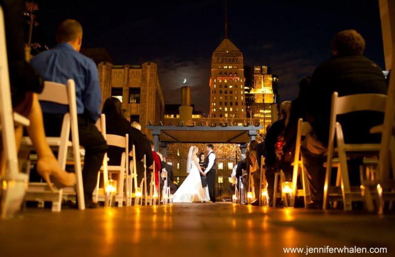 Wedding Ceremony at Crowne Plaza Minneapolis