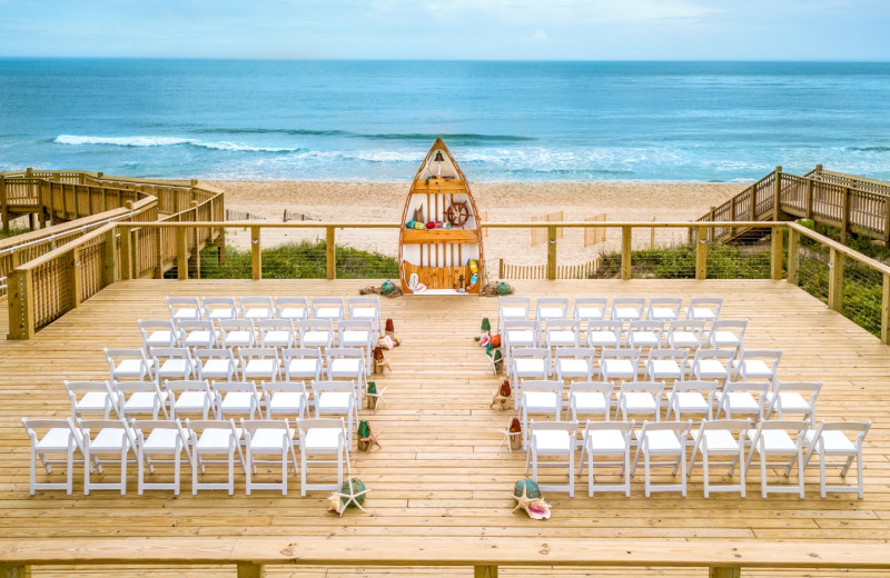 Weddings at Ramada Plaza Nags Head Oceanfront.