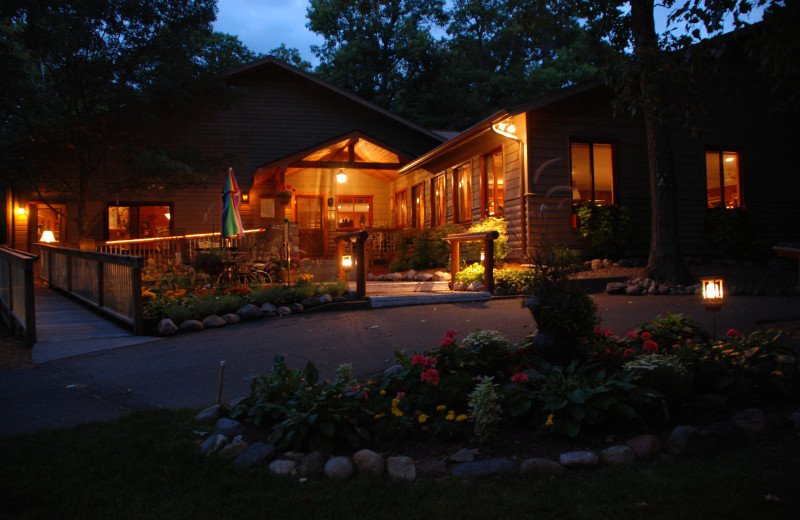 Exterior view of Lost Lake Lodge.