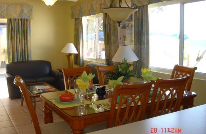 Guest room at Coral Sands Resort.