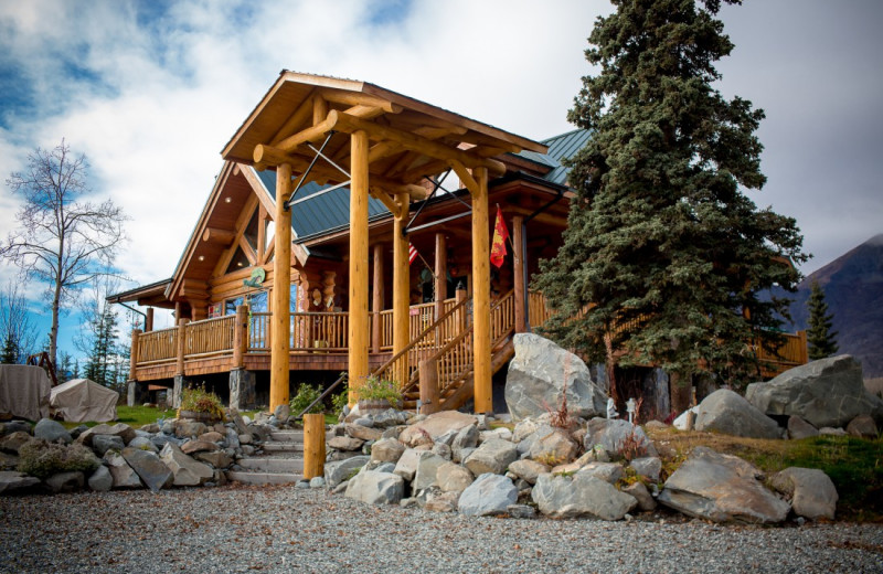 Exterior view of Matanuska Lodge.