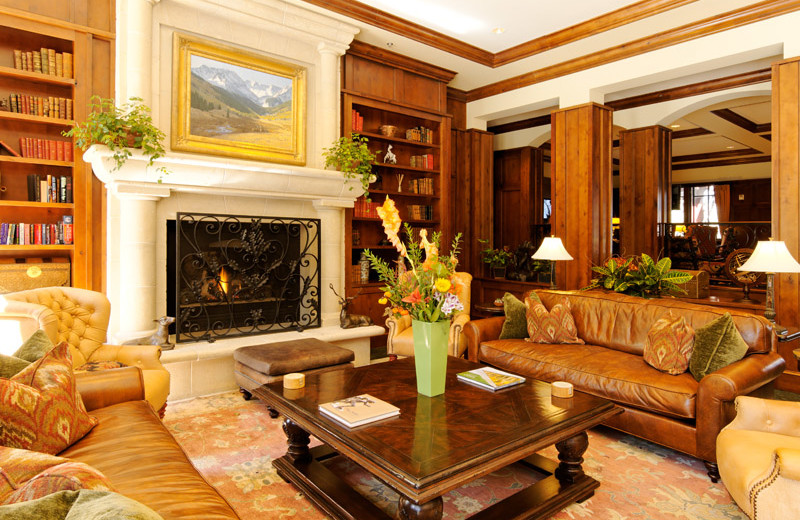 Lobby view at Frias Properties of Aspen - Ritz-Carlton Club.