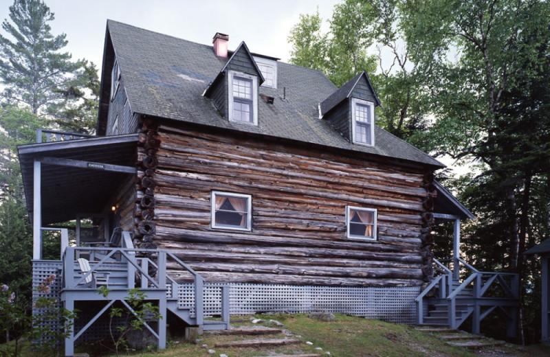 Emerson Lodge exterior at Elk Lake Lodge.
