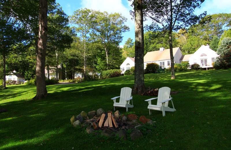 Exterior view at The Lodge at Camden Hills