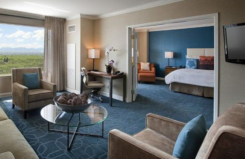 Suite Interior at JW Marriott Denver