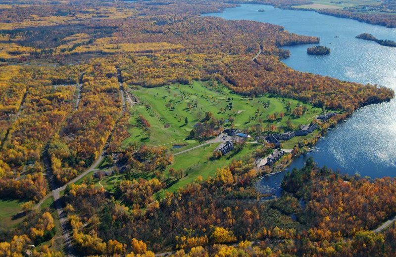 Golf course near Red School Resort.