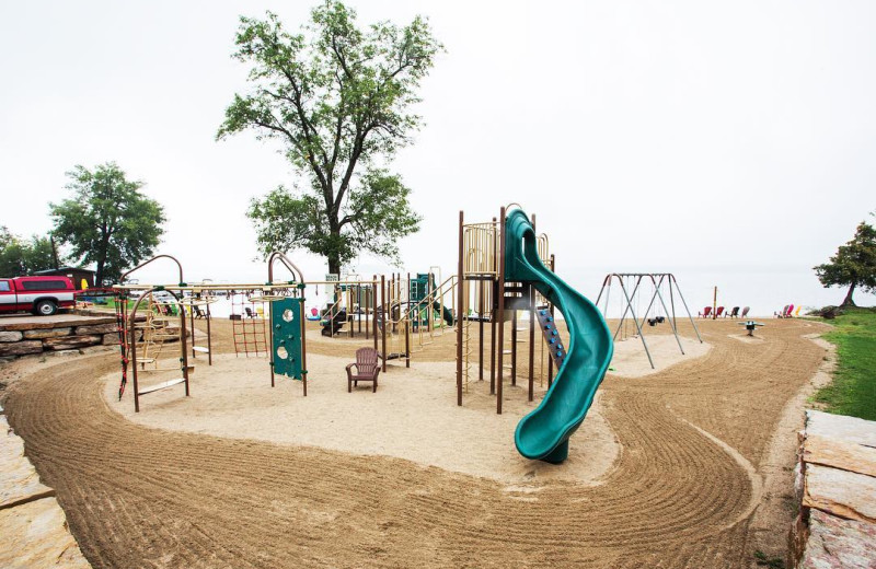 Playground at Great Blue Resorts- McCreary's Beach Resort.