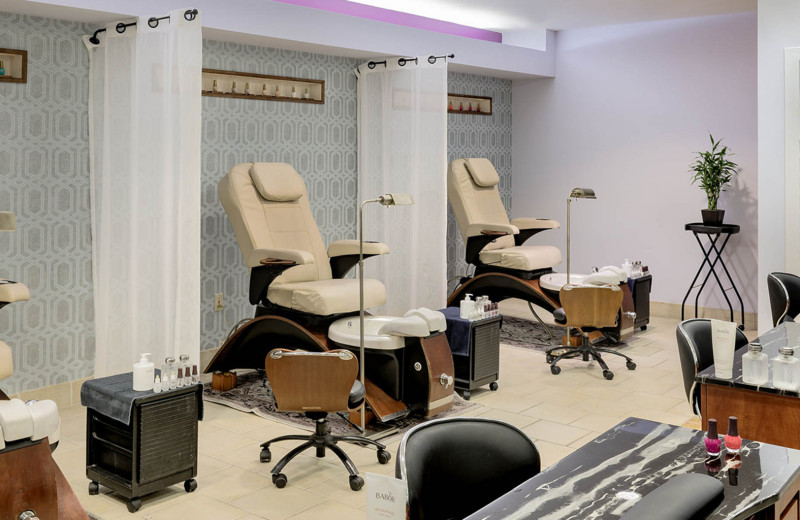 Salon at Cranwell Spa & Golf Resort.