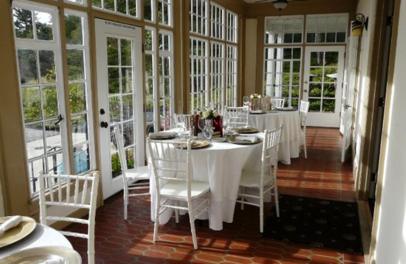 Dining at Monte Verde Inn.