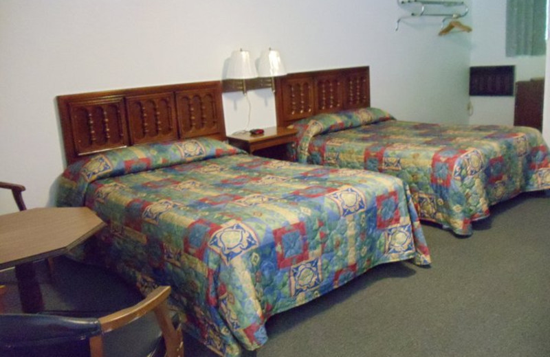 Guest Room at Rocky Waters Motel