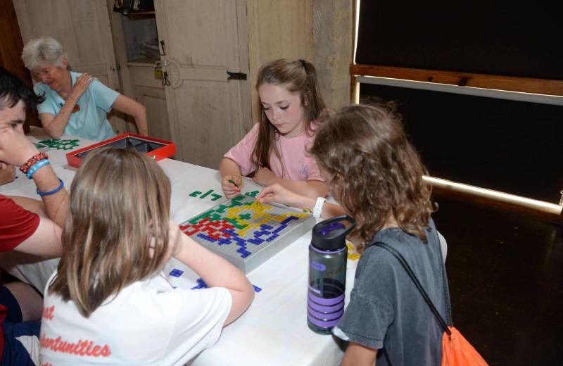 Games at Camp Balcones Spring.