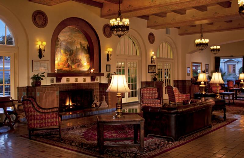 The lobby at Hassayampa Inn.