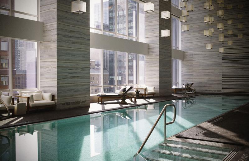 Indoor pool at Park Hyatt New York.