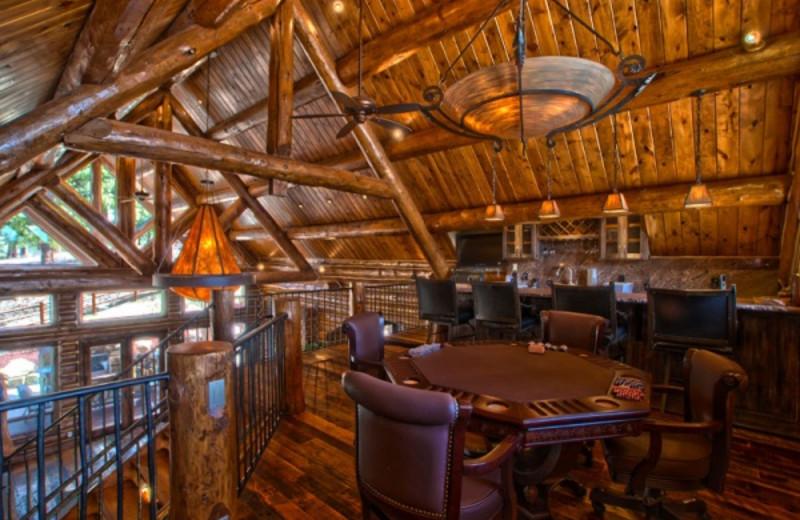 Rental bar at Pagosa Springs Accommodations.