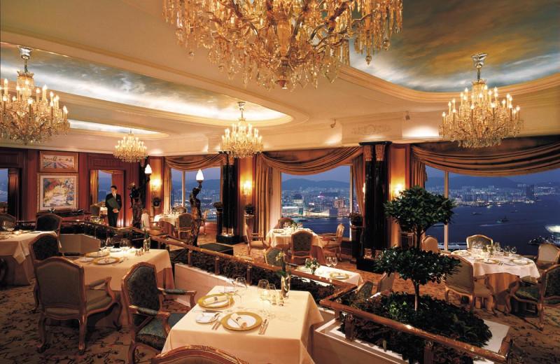 Dining at Island Shangri-La-Hong Kong.