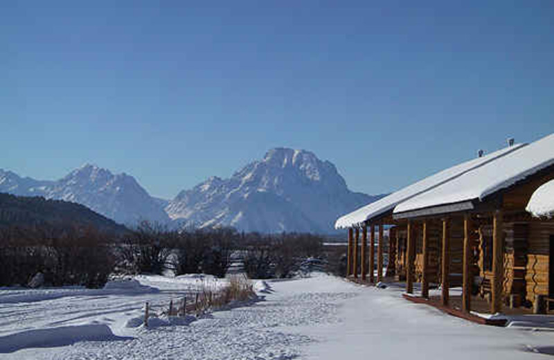 Winter at Luton's Teton Cabins