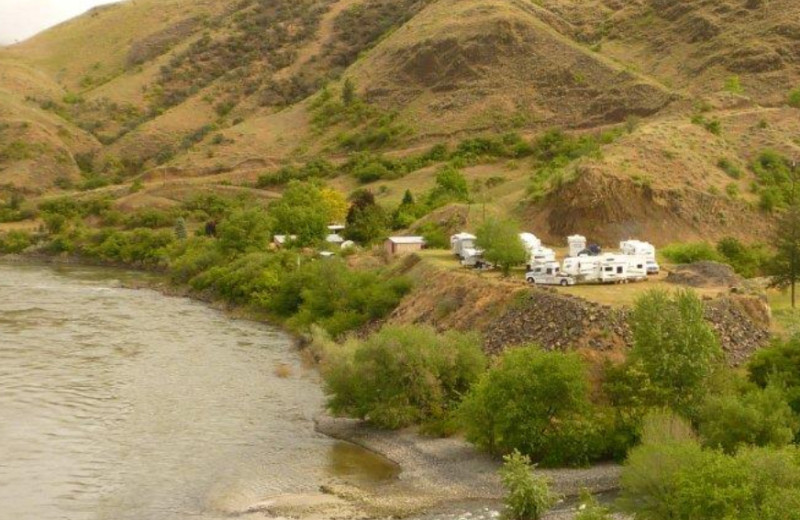 RV Park at Hells Canyon Jet Boat Trips
