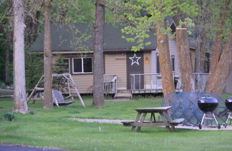Cabin Exterior at Royal Starr Resort