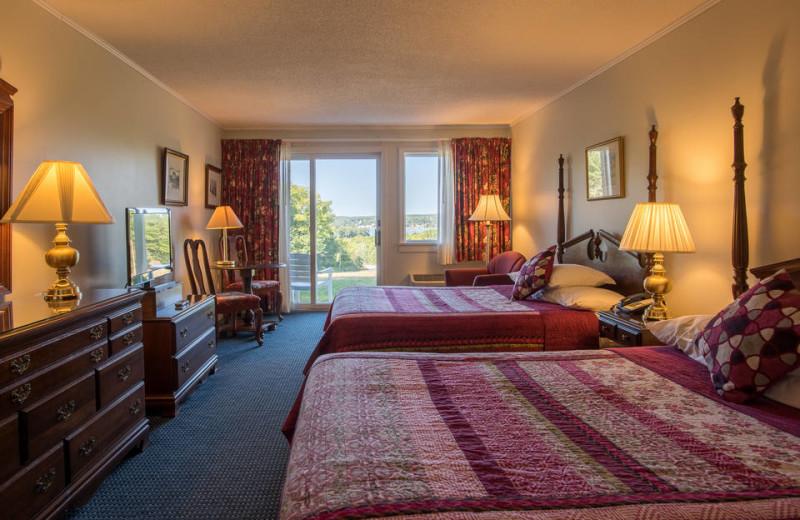 Guest room at Cod Cove Inn.