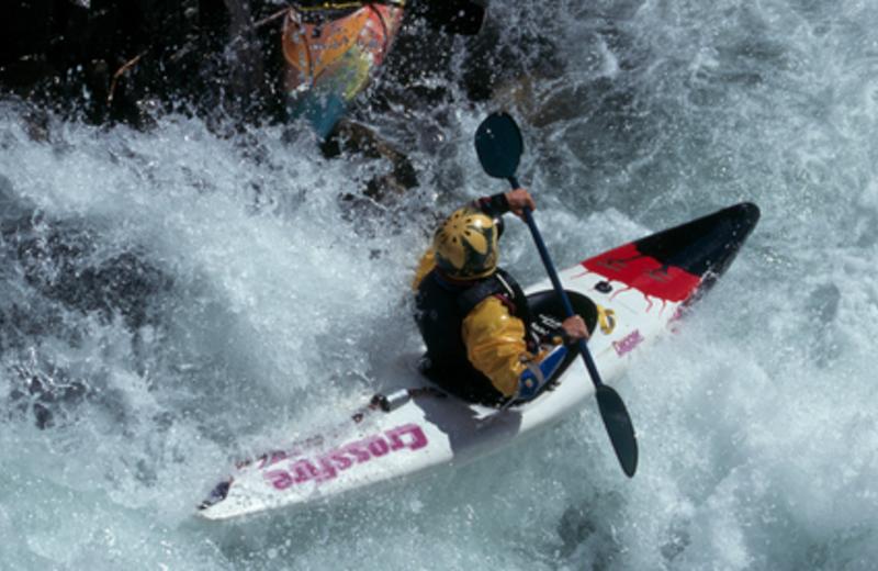 Kayaking at Icicle Village Resort
