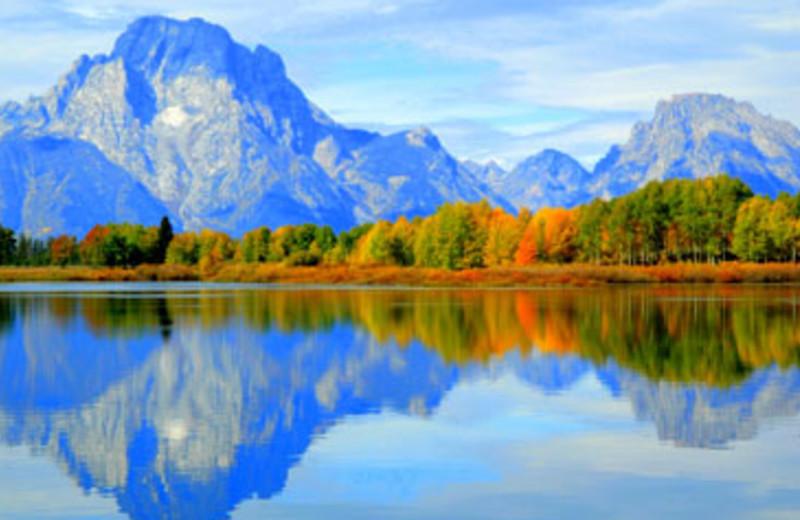 Beautiful View at Teton Range Resort