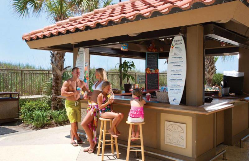 A Hui Hou Tiki Bar at Mar Vista Resort Grande.