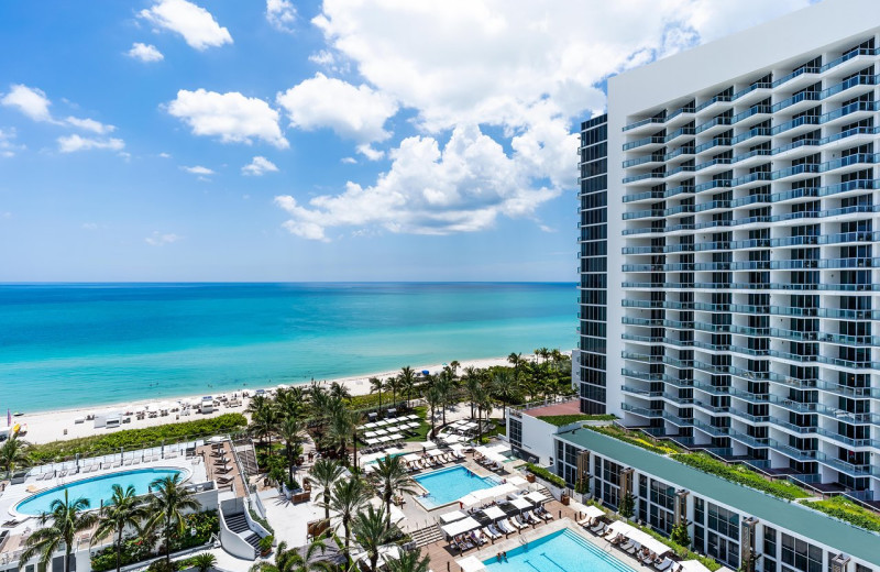Exterior view of Eden Roc Miami Beach.
