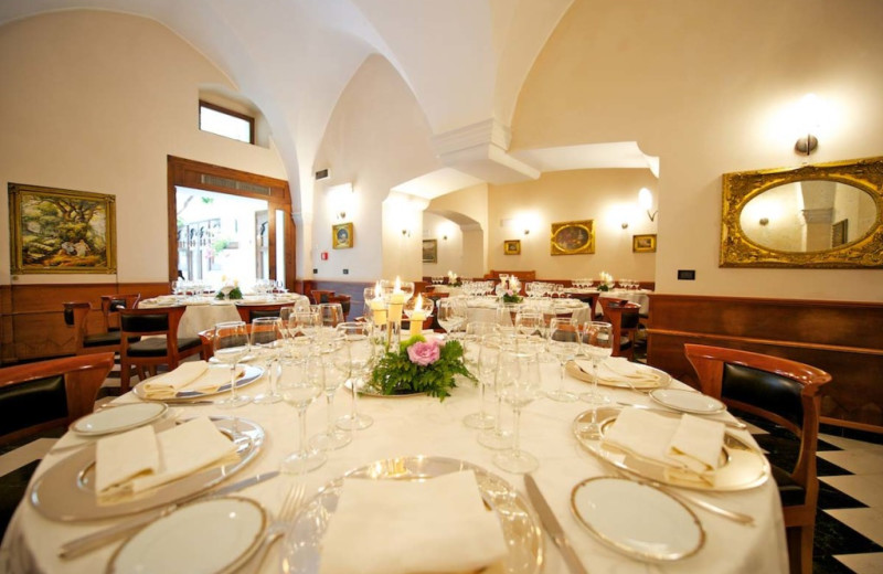 Dining room at Patria Palace.