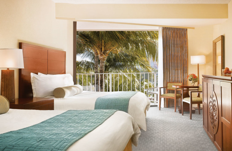 Guest room at Atlantis, Paradise Island - Coral Towers.